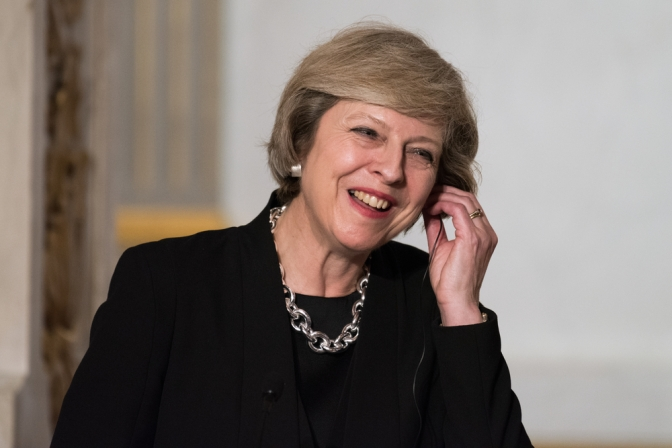 Theresa May: church, state, and party