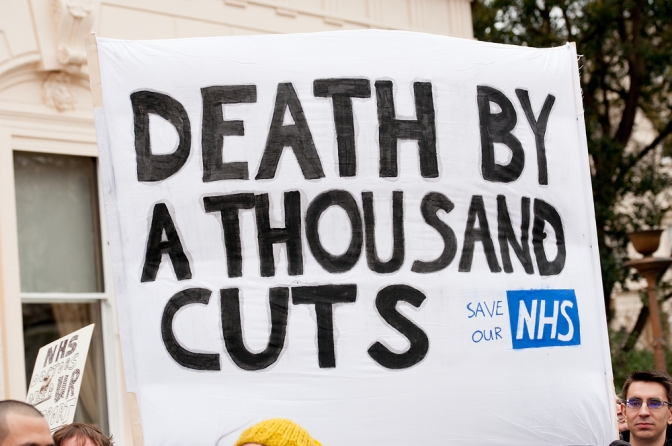 Are the Conservatives privatising the NHS?