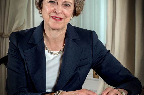 What does Theresa May stand for?