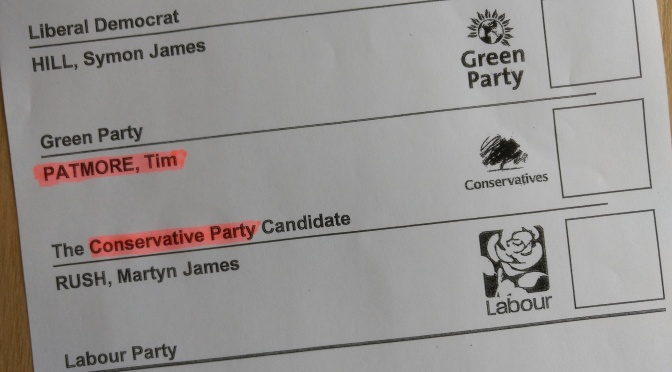 Oxford City Council election 2018 – The Conservatives, part 1 of 2